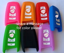 SILICONE CAR KEY COVER CASE HOLDER For BMW 3 5 7 SERIES X1 X3 X5 X6