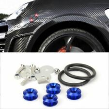 Blue Stabilizer Quick Release Secure Kit For Chevy Front Rear Bumper Lip Fender