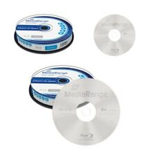 [MR507] 1 x Spindel 10 er Mediarange Blu-ray 50 GB Gigabyte BD-R DL Rohlinge 6x