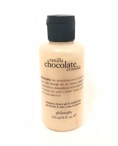 Philosophy Vanilla Chocolate Crumble 3 in 1 Shower Gel Body Wash 4 oz NEW