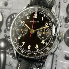 Junghans 50s Vintage Exceptional Military Style Chronograph Watch Awesome J88