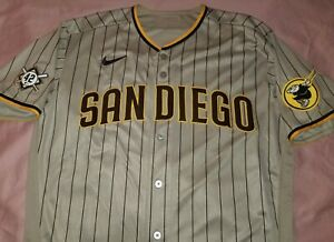 2020 San Diego Padres Nike Player Game Issued Jackie Robinson Day Jersey Size 46