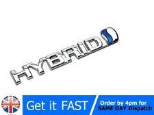 Hybrid For Toyota Badge Emblem 3D ABS Chrome Logo Car Sticker Prius RAV4 Yaris