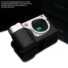 Gariz Kameratasche Fototasche Leder Tasche für Leica TL2 TL T | Schwarz