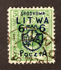 CENTRAL LITHUANIA  #17  USED  (1609123)