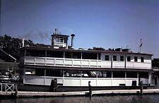 """Original Kodachrome Slide, Sept 1962, Boat, Steam Ship """"Donna Mae"""""""