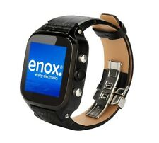 ENOX Wsp8802 40gb Android Smartwatch Handyuhr SIM WLAN 5 MP Kamera GPS schwarz