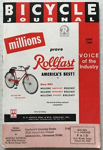 1968 Bicycle Journal Magazine SCHWINN Stingray Orange Krate Coney Island Photo