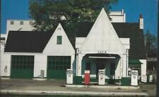 Rayle Texaco Gas Station Greensboro North Carolina Jumbo Historic Postcard