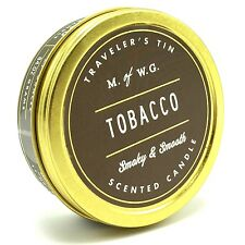 Makers of Wax Goods America Travelers Tin Tobacco Scented Candle