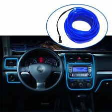 Car Interior Decorative Atmosphere Light Trim Lamp Strip Blue Cold lights