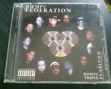 BUMP IT FEDERATION  LOS ANGELES 2001 BAY AREA G-FUNK VERY RARE RAP!!