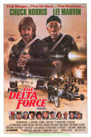 DELTA FORCE MOVIE POSTER RARE Original SS 27X40 RARE Rolled CHUCK NORRIS