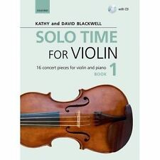Solo Time for Violin Book 1 CD Blackwell Oxford University Press 9780193404793