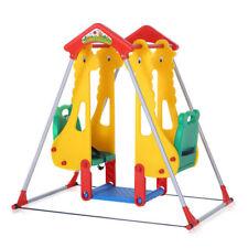 Aire de jeux Balançoire Enfants Extérieur 'Intérieur siège double Baby Vivo