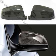 For BMW E60 F12 F13 F01 F02 F11 F10 F07 Dry Real Carbon Fiber Mirror Cover Caps