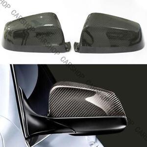 Dry Real Carbon Fiber Side Mirror Cover For BMW E60 F10 F12 F13 F01 F02 F11 F07