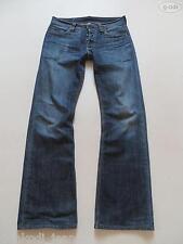 Levi's® 512 Bootcut Jeans Hose, W 32/L 34, Dark washed, Faded Denim, RARITÄT !!