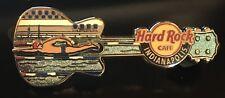 HARD ROCK CAFE INDIANAPOLIS SWIMMING SLIDER GUITAR PIN 2013