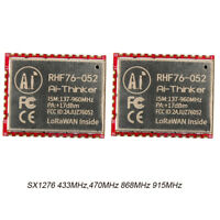 2Pcs SX1276 LoRa LoRaWAN Wireless Wifi 15Km Module 433MHz 470MHz 868MHz 915MHz