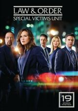 LAW AND ORDER SVU SPECIAL VICTIMS UNIT - SEASON 19 - DVD - UK Compatible