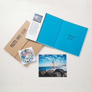 MIKE MOIR - SIGNED COLLECTORS EDITION BOOK w SIGNED PHOTO and DVD - SURFING