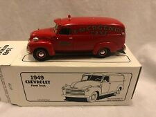 First Gear FDNY 1949 Chevy Panel  Emergency Truck F.D.N.Y. Fire Dept. 1:34 RARE