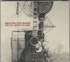Ben Miller - Any Way, Shape or Form (2014 ) Factory Sealed