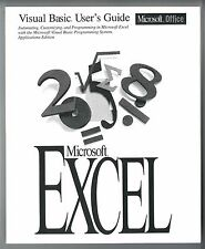 Visual Basic User's Guide for Microsoft Excel MS Office VB Vintage 1994