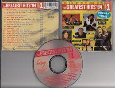 GREATEST HITS '94 V1  CD MAGNUM Laura Pausini Phil Collins Mr Big 2 Unlmited