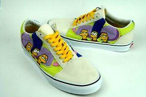 Vans X The Simpsons Bouvier Sisters Old Skool Men's Size 12 New