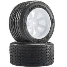 Protoform VTA Rear Tires (31mm) Mounted White Wheels (2 10139-17