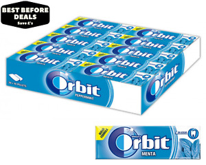 Orbit (Extra) Peppermint Chewing Gum - 30 Packs For £6.99 - BBE: 03/04/2021