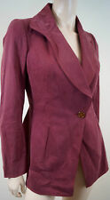 VIVIENNE WESTWOOD RED LABEL Dusky Pink 100% Cotton Blazer Jacket 42 UK10 EU38