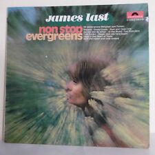 "33T James LAST Vinyle LP 12"" NON STOP EVERGREENS Orgue POLYDOR 249370 RARE"