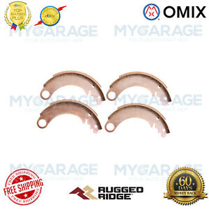Omix-ADA For 41-60 Jeep & Willys & Ford 9 Inch Drum Brake Shoe Kit - 16726.01
