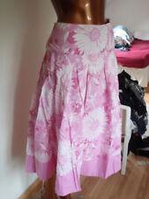 Cotton Floral Formal Flippy, Full Skirts for Women