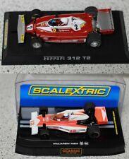 Scalextric Formel 1 Classic Ferrari 312 T2 Regazzoni / McLaren M23 Mass C2927