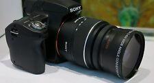 Wide Angle Macro Lens for Sony Alpha  A230 A390 A100 A300 A330 A350 A500 A550 HD