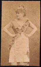 Berthe Legrand. Photographe Acard vers 1880. Théatre