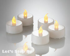 72 Led Battery Amber Flameless Wedding TeaLight Candle