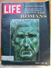 Life Magazine, March 4, 1966 - All about Rome Lot mg