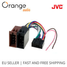 JVC new 16 Pin to ISO Lead Wiring Loom Power Adaptor Wire Radio Connector Harnes