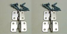 4 Pack Penn Elcom P0644N Take Apart/Lift Off Hinge Nickle Finish W/Mtg. Screws