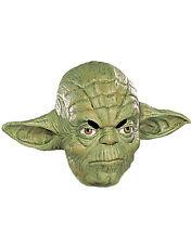Yoda 3/4 Vinyl Mask, Kids Star Wars Costume Accessory, Age 6+