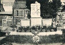 Carte MONTCORNET Monument aux Morts Grande Guerre 1914 1918