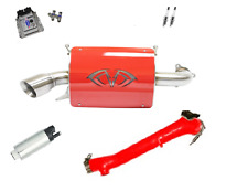 Evolution Powersports Evo Stage 5R ECU Flash Red Magnum Exhaust RZR XP TURBO