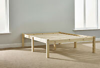 4ft 6 Double HEAVY DUTY Solid Pine Bed Frame - Very Strong (EB3)