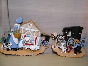 Country Wall Decor Amish 1995 Burwood Products 3340