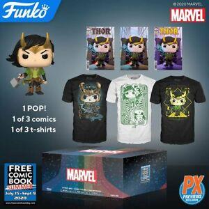 Funko Pop! Marvel LOKI MYSTERY BOX PX SUMMER 2020 Medium NEW & IN STOCK NOW - UK